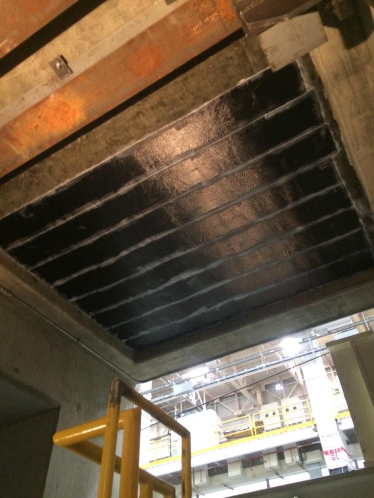 مقاوم سازی دال و سقف بتنی