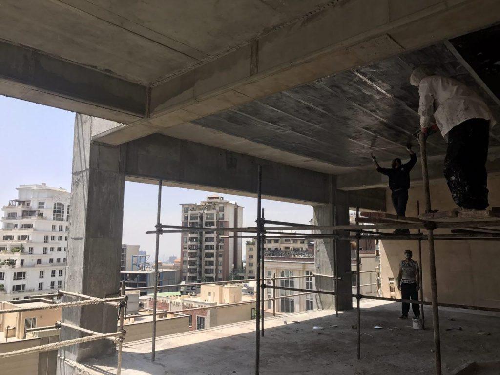 مقاوم سازی سقف بتنی