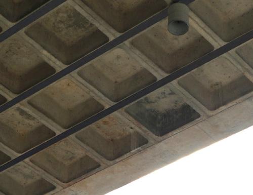 جزییات مقاوم سازی سقف وافل